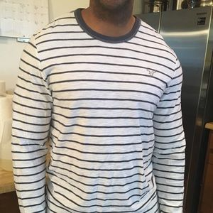 American Eagle Striped long sleeve shirt